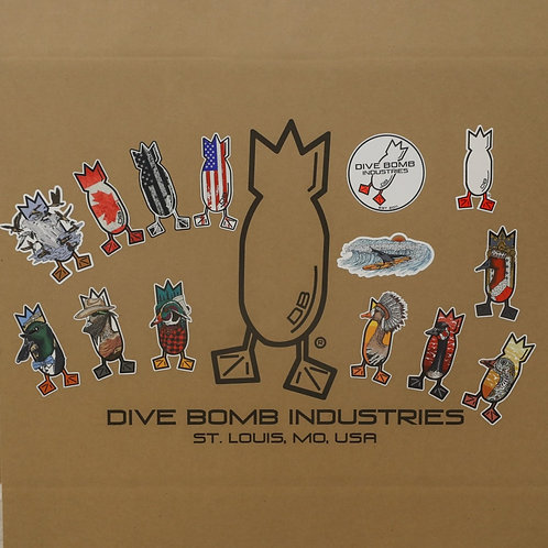 """Dive Bomb 5"""" Decal Pack"""
