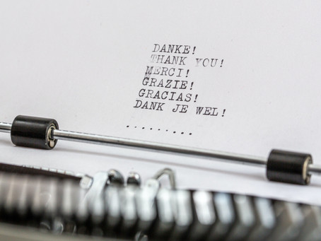 Übungsexemplar   Dankbarkeitsbrief
