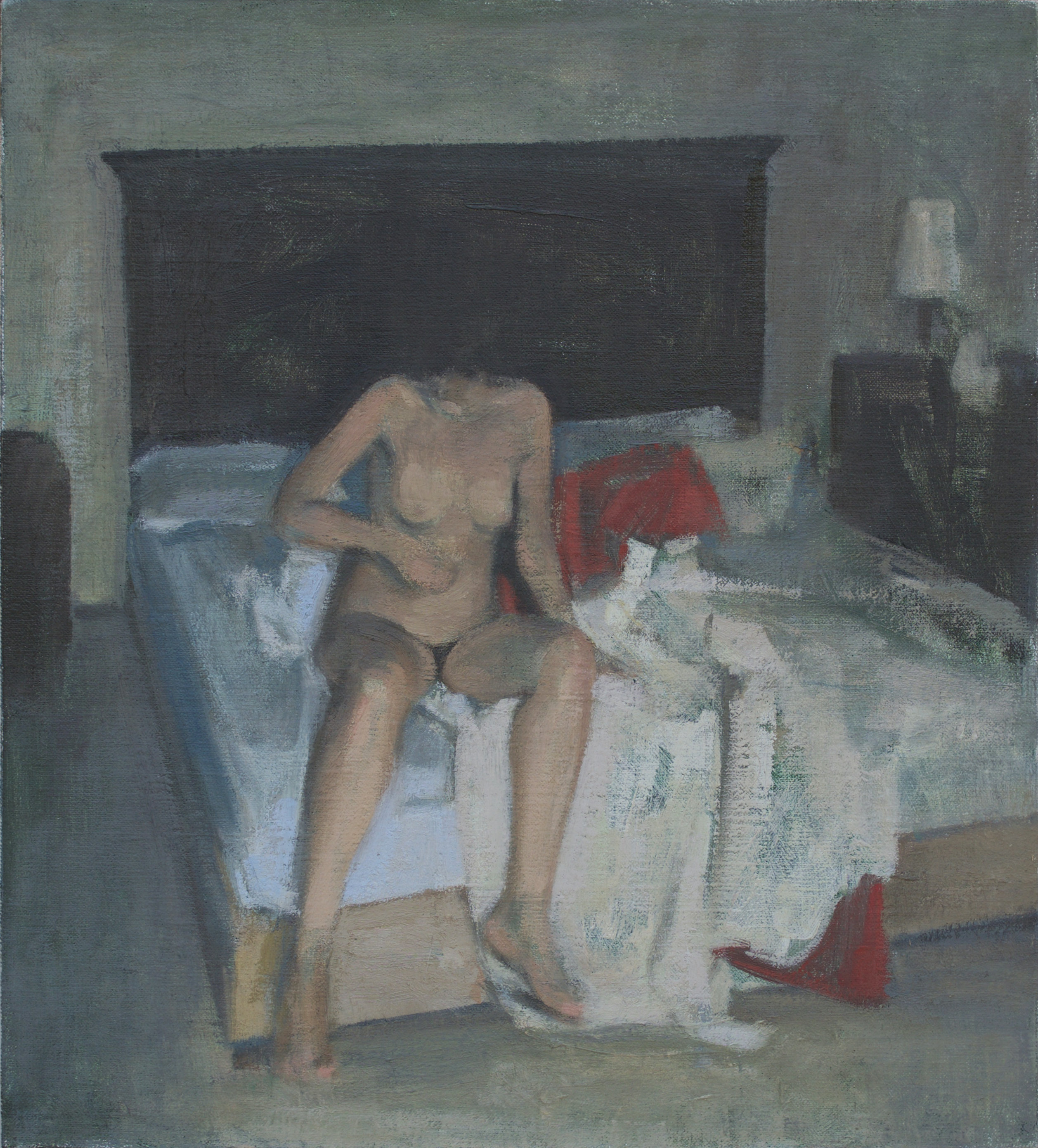 Girl on Bed, 2018