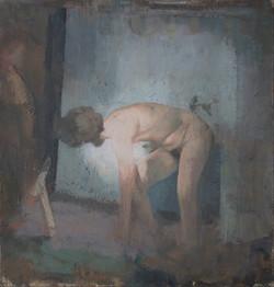 Figure in Interior III, 2020
