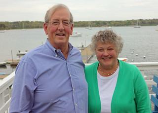 "Sandy and Ann Davies - ""Heron/Lone Gull"""