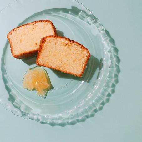 シトラスパウンドケーキ作りました。
