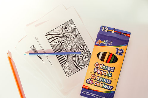 Extra Mindfulness Colouring Sheets