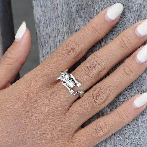 Silver Ring Animal - Horse