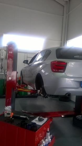 #HAFOficina BMW, Suspensão