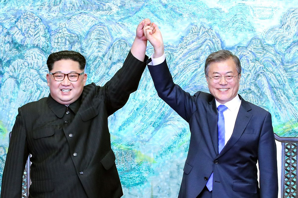 North and South Korea end war