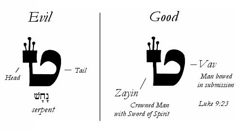 Hebrew Letter TET 9