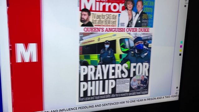 Does Sky News know Prince Phillip is dead?