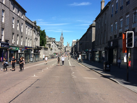 Union Street - what a guddle
