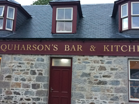 Odd events at Farquharson's Bar and Kitchen at Braemar