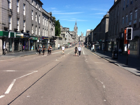 """Aberdeen should be rebranded         """"The Grotty (not The Granite) City!"""""""