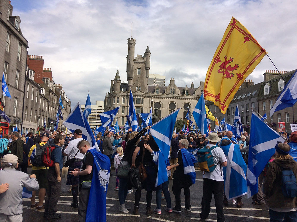 All your flag-waving will not save you from the grim reality of independence