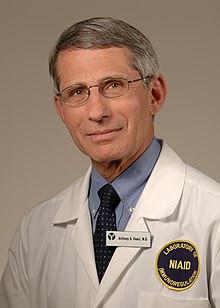 Antony Fauci, who may have created the coronavirus