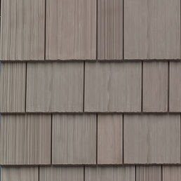 DaVinci Roofscapes Multi-Width Shake Weathered Gray Swatch Omaha
