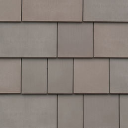 Kansas City DaVinci Roofscapes Fancy Shake - Weathered Gray Swatch