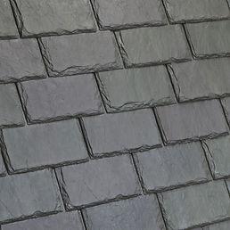 Kansas City DaVinci Roofscapes Single-Width Slate - Evergreen-VariBlend Swatch