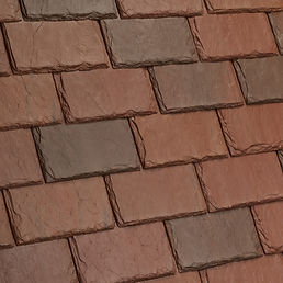 Kansas City DaVinci Roofscapes Single-Width Slate - Sonora-VariBlend Swatch