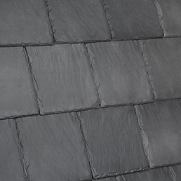 Kansas City DaVinci Roofscapes Bellaforte Slate - Slate Gray-VariBlend Swatch