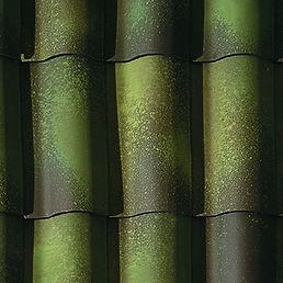 Ludowici Straight Mission Barrel Tile Roof Kansas City