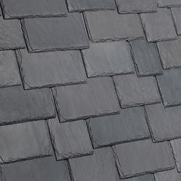 Kansas City DaVinci Roofscapes Multi-Width Slate - Castle Gray