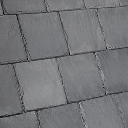 Kansas City DaVinci Roofscapes Bellaforte Slate - Castle Gray-VariBlend Swatch