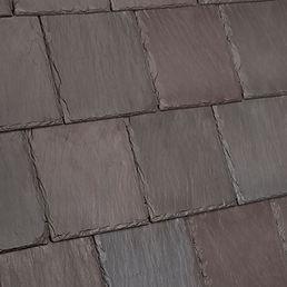 DaVinci Roofscapes Bellaforte Slate Brownstone-VariBlend Swatch Omaha