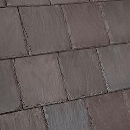 DaVinci Roofscapes Bellaforte Slate Brownstone-VariBlend Swatch Omaha