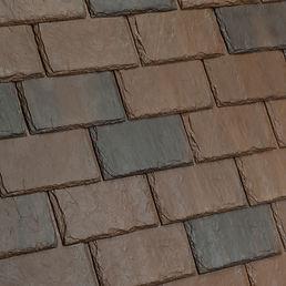 Kansas City DaVinci Roofscapes Single-Width Slate - Canyon-VariBlend Swatch