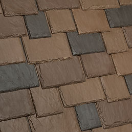 Kansas City DaVinci Roofscapes Multi-Width Slate - Canyon