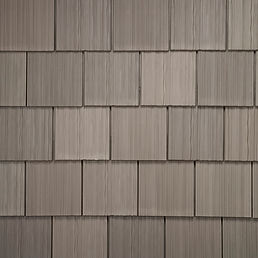 DaVinci Roofscapes Single-Width Shake Weathered Gray-VariBlend Swatch Omaha