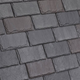 DaVinci Roofscapes Single-Width Slate European-VariBlend Swatch Omaha