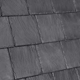 Kansas City DaVinci Roofscapes Bellaforte Slate - Smokey Gray-VariBlend Swatch