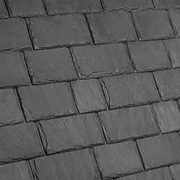 Kansas City DaVinci Roofscapes Multi-Width Slate - Slate Gray