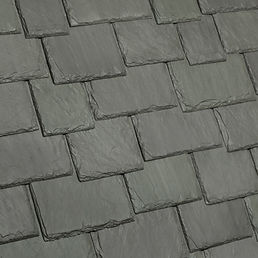 DaVinci Roofscapes Multi-Width Slate Evergreen Swatch Omaha