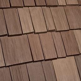 Kansas City DaVinci Roofscapes Bellaforte Shake - Autumn-VariBlend