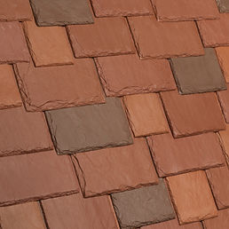 Kansas City DaVinci Roofscapes Multi-Width Slate - Sonora