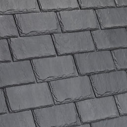 DaVinci Roofscapes Single-Width Slate Castle Gray Swatch Omaha