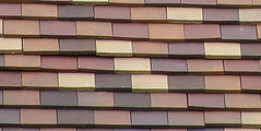 Ludowici Flat Slab Clay Shingle Tile Omaha