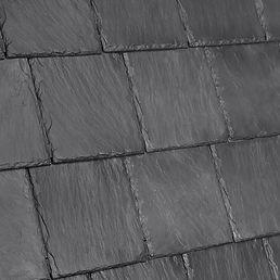 DaVinci Roofscapes Bellaforte Slate Smokey Gray-VariBlend Swatch Omaha