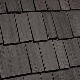 Kansas City DaVinci Roofscapes Bellaforte Shake - Mountain-VariBlend