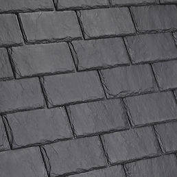 DaVinci Roofscapes Single-Width Slate Smokey Gray Swatch Omaha