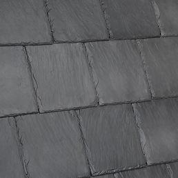 DaVinci Roofscapes Bellaforte Slate Slate Gray-VariBlend Swatch Omaha