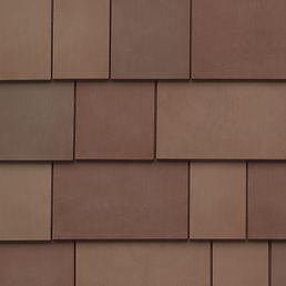 Kansas City DaVinci Roofscapes Fancy Shake - Autumn Swatch