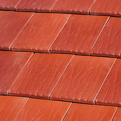 Ludowici Americana Flat Interlocking Clay Tile Omaha