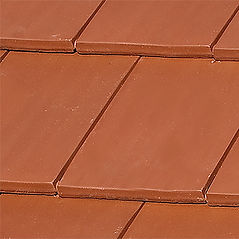 Ludowici Classic Flat Interlocking Clay tile Omaha