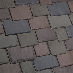 DaVinci Roofscapes Multi-Width Slate Aberdeen Swatch Omaha