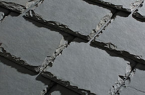 Omaha Slate Roofing - American Slate - Andres cliff swath