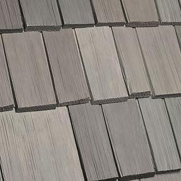 Kansas City DaVinci Roofscapes Bellaforte Shake - Weathered Gray-VariBlend