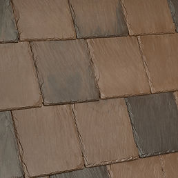 Kansas City DaVinci Roofscapes Bellaforte Slate - Canyon-VariBlend Swatch
