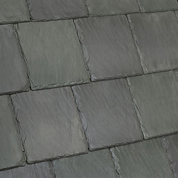 Kansas City DaVinci Roofscapes Bellaforte Slate - Evergreen-VariBlend Swatch